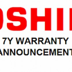 Tactile sets benchmark with 7 YEAR WARRANTY program on Toshiba TCX product range