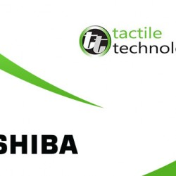 Tactile Technologies and Toshiba join forces