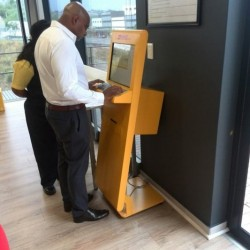 Kiosks for DHL