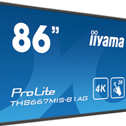 This Month's Featured Product: The 86-Inch Interactive IIYAMA Touch Screen TH8667MIS-B1AG