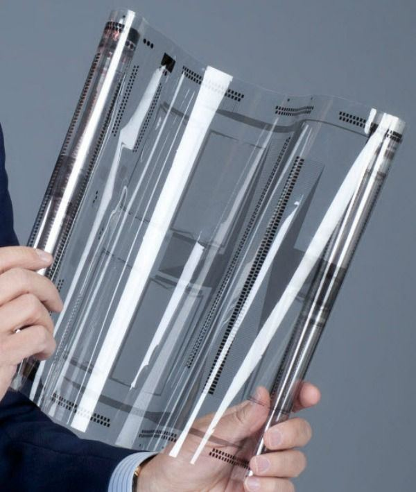 The innovation of such flexible touch screen technology