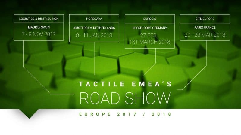 Tactile EMEA Roadshow